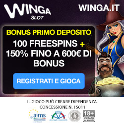 bonus winga